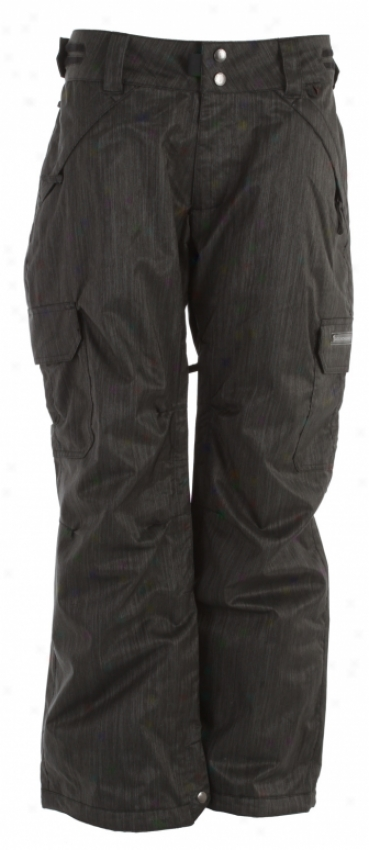Ride Highland Insulated Snwoboard Pants Charcoal Denim
