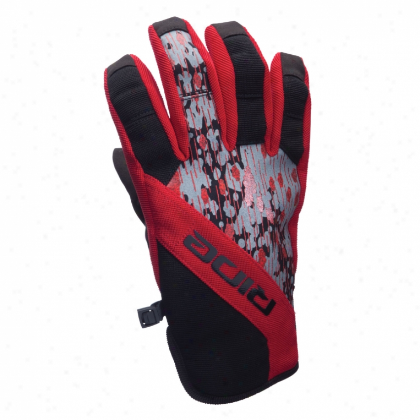 Ride Shorty Snowboard Gloves Black