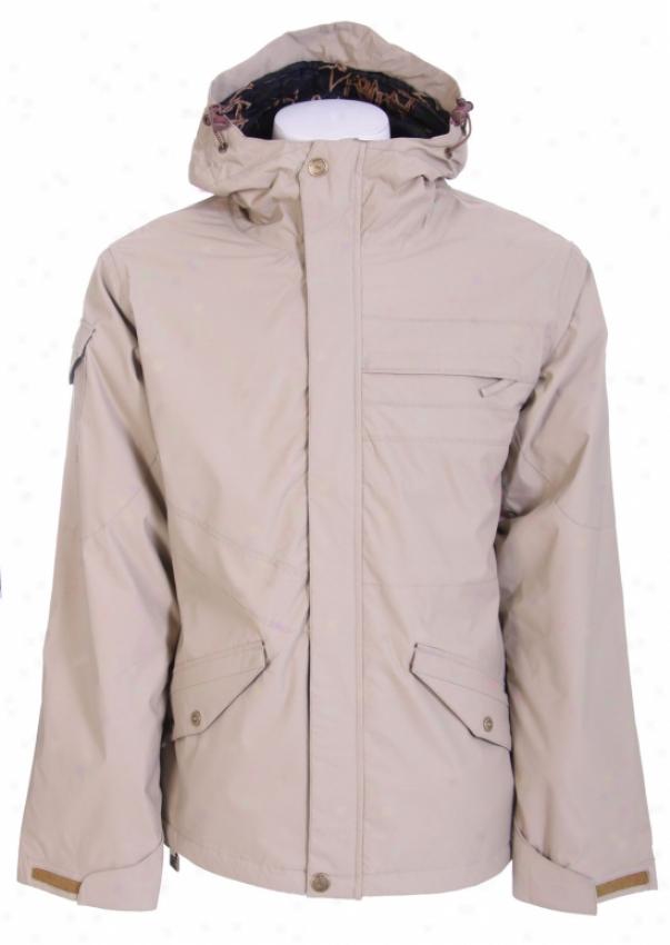 Ride Taft Snowboard Jacket Khaki