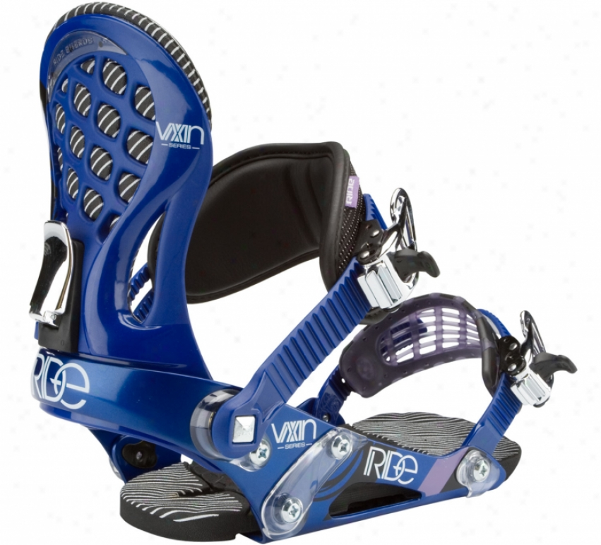 Ride Vxn Snowboard Bindings Royal