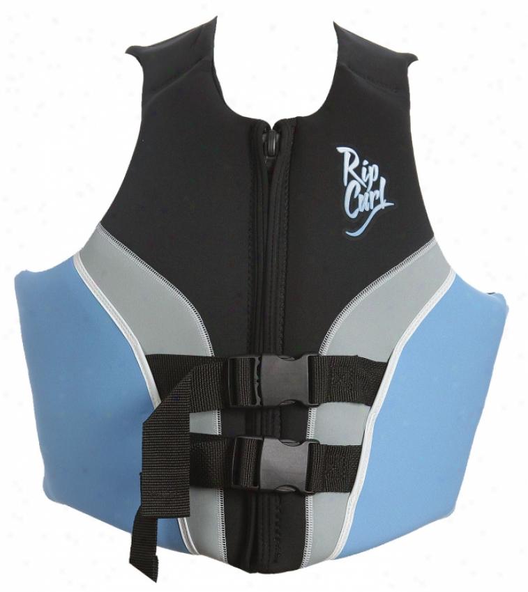 Rip Curl Flow Uscg Wakeboard Vest Boue