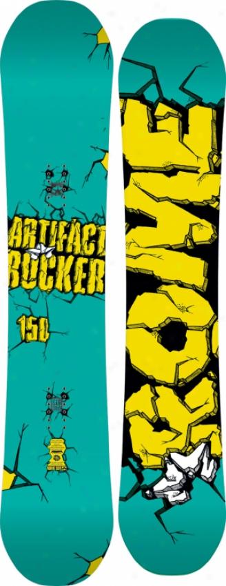 Rome Arrifwct Rocker Snowboard 150