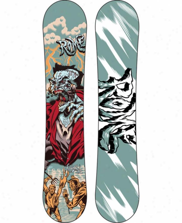 Rome Label Snowboard 142