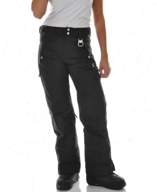 Rome Lovwland Snowboard Pants Black