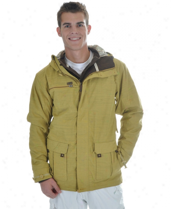 Rome Watts 3 In 1 Snowboard Jacket Desert