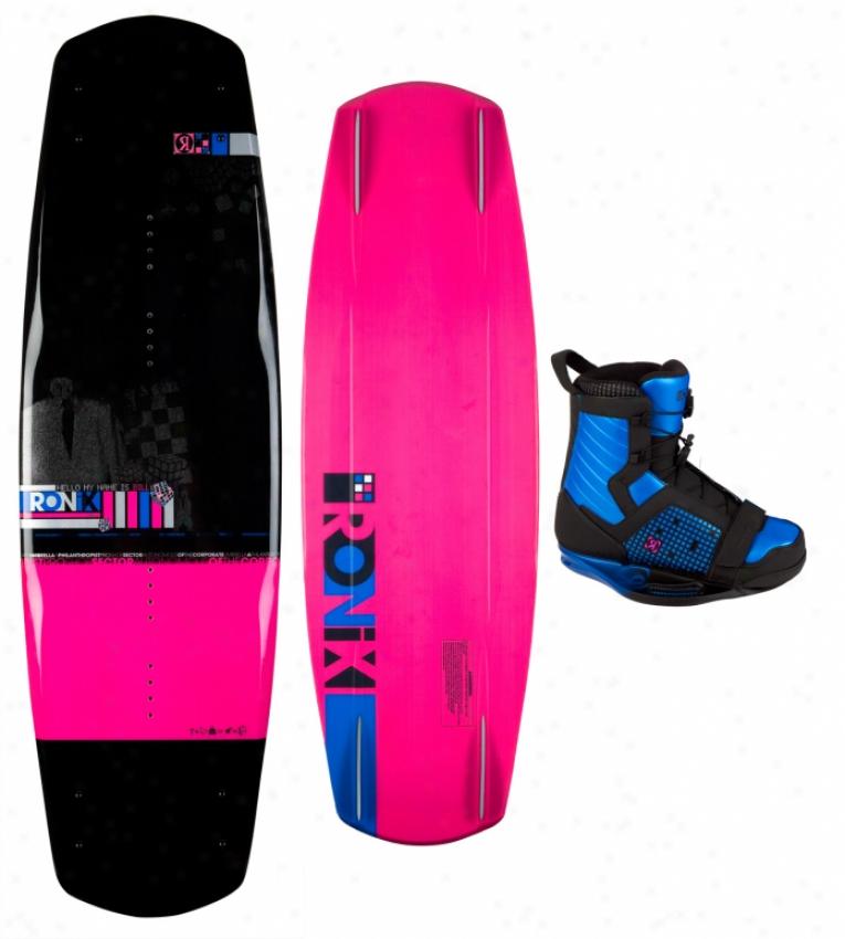 Ronix Bill Wkeboard 142 W/ Frank Boots