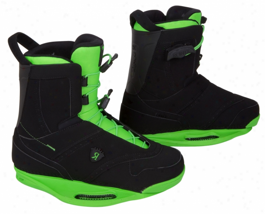 Ronix Frank Wakeboard Boots Black/sukun Green/intuition