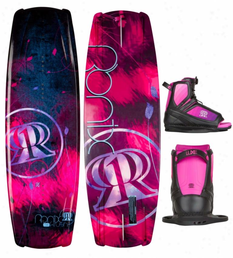 Ronix Krush Wakeboard 134 W/ Luxe Bindings