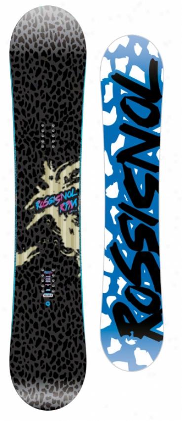Rossignol Rpm Midwide Snowboard 155 Black
