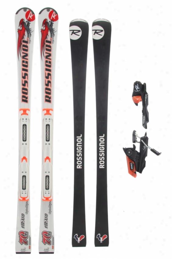 Rossignol Strato 70 Ltd Ti Tpi2 Skis W/ Axial 120s Bindings