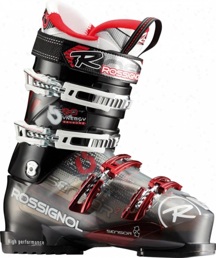Rossignol Synergy Sensor2 90 Ski Boots Black/red