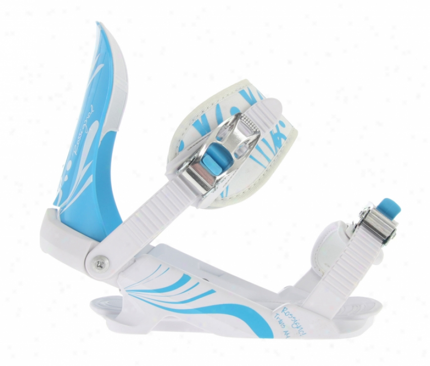 Rossignol Trans Am V2 Snowboard Bindings White