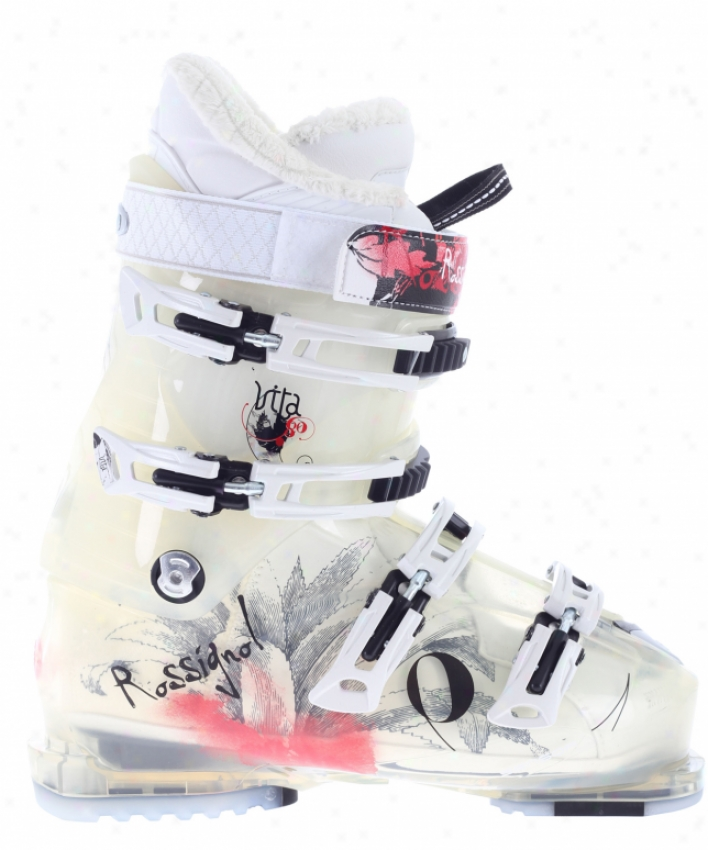 Rossignol Vita Sensoe 80 Ski Boots Transparent