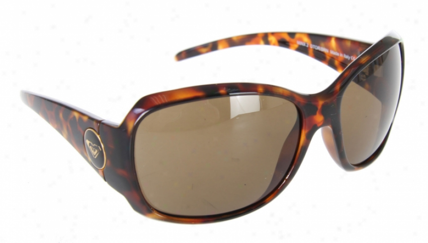 Roxy Minx 2 Sunglasses Dark Tort/brown