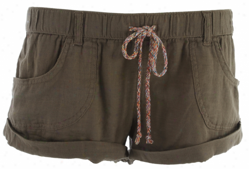 Roxy Nomad Shorts Alloy Brown