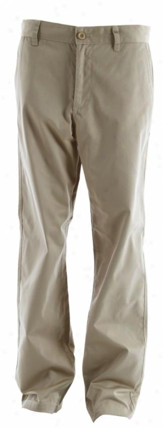 Rvca Americana Ii Chino Pants Khaki Sage