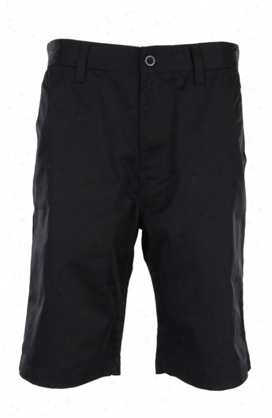 Rvca Ameficana Ii Shorts Black