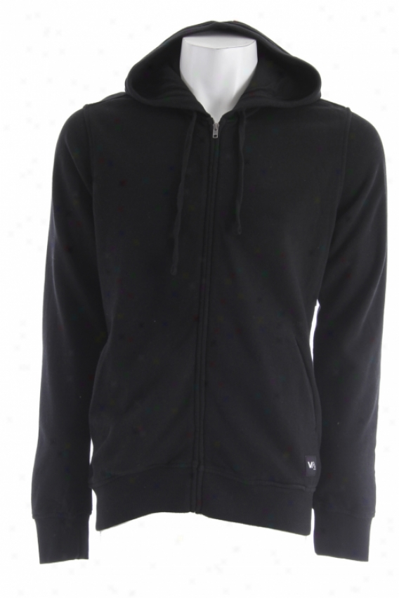 Rcca Fleece Colors Hoodie Black