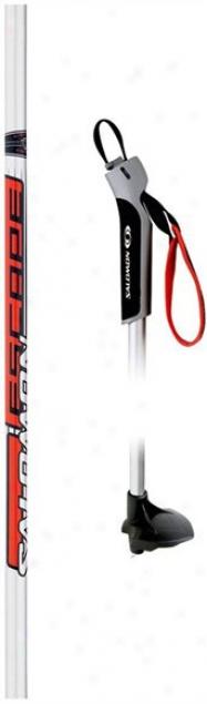 Salomon Escape Comp Gospel Conutry Ski Poles White/red