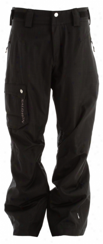 Salomon Fantasy Ii Ski Pants Black