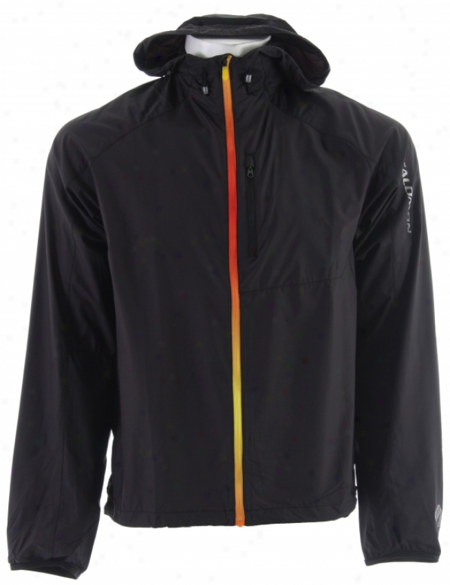Salomonn Fast Wing Hoody Ii Jacket Black