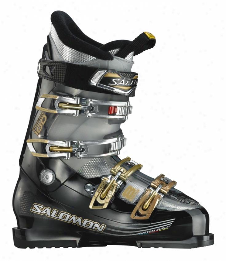 Salomon Impact 8 Ski Boots Black Trans /black