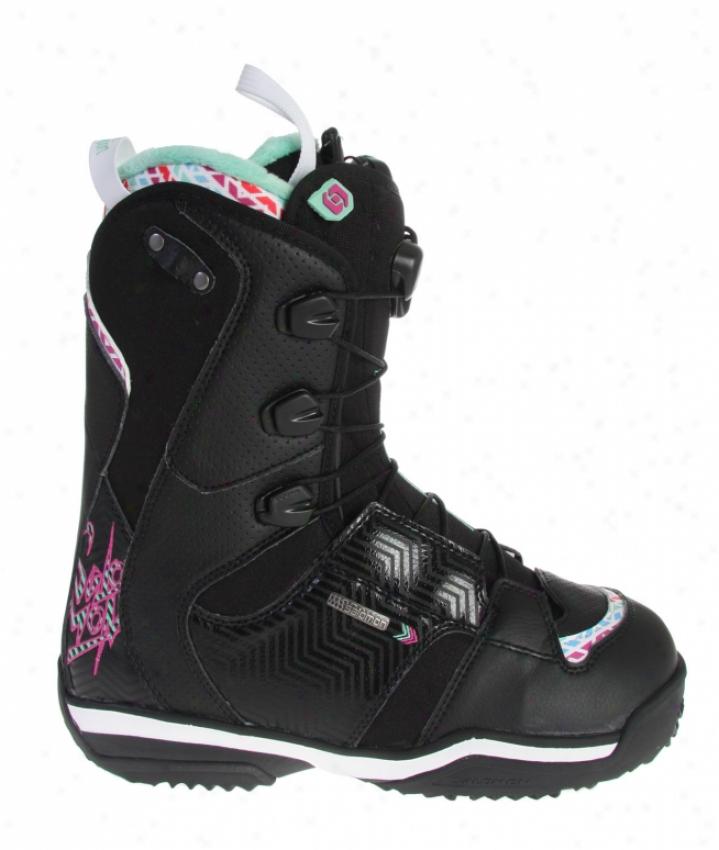Salomon Ivy Snowboard Boots Black/white
