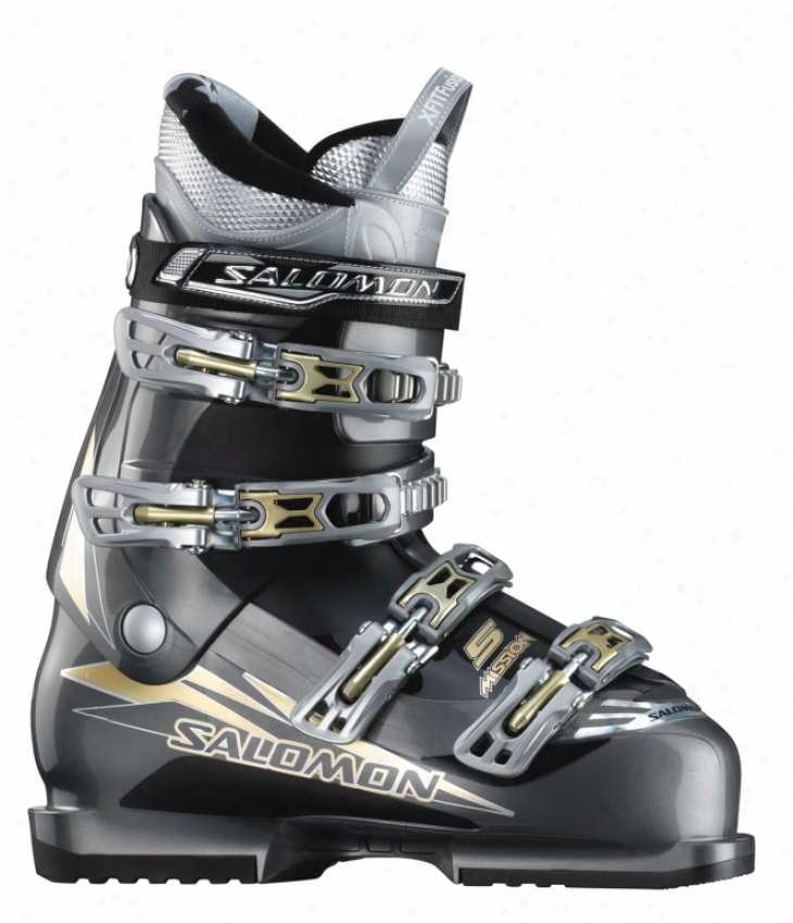 Salomon Mission 5 Ski Boots Charcoal/black