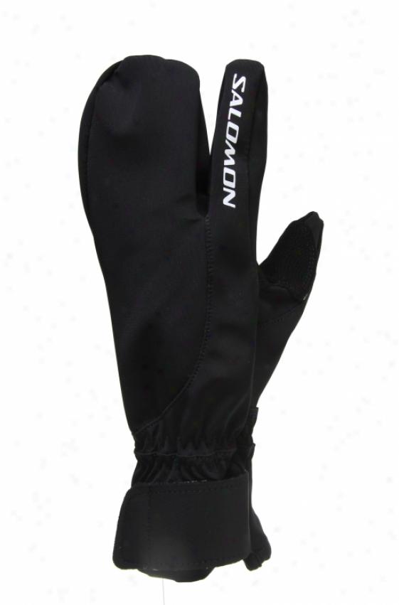 Salomon Nordic Tourng Lobster Gloves Black