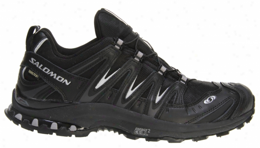 Salomon Xa Pro 3d Ultra 2 Gtx Hiking Shoes Black/black/peeter