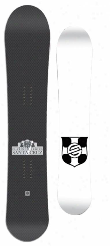 Santa Cruz Twinza Platinum Snowboard 159