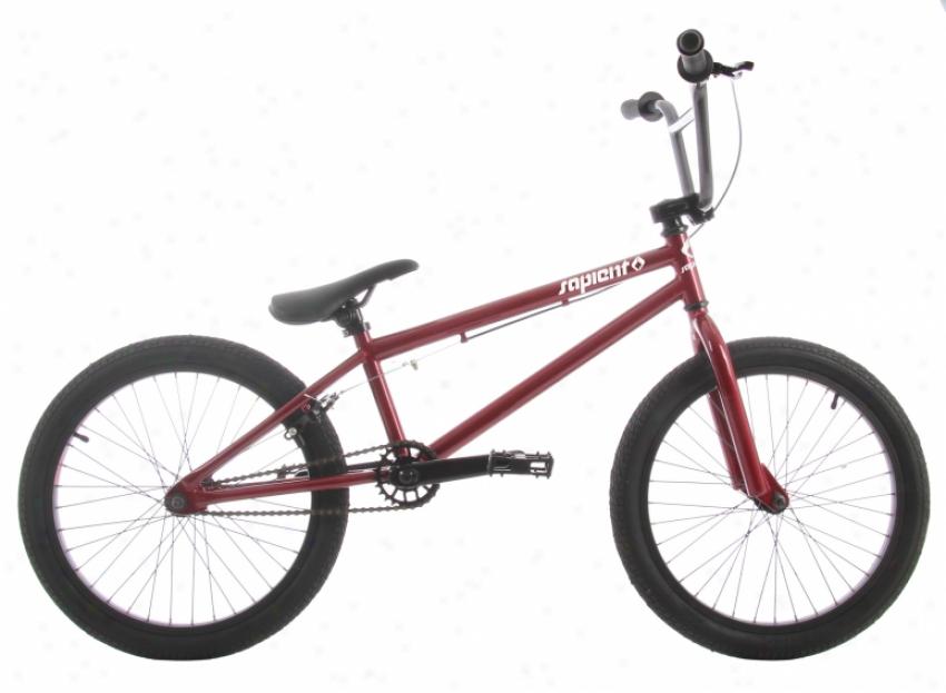 "Sapient Lumin/mxii Bmx Bike 20"" Carbonated Burgundy/twilight Haze"