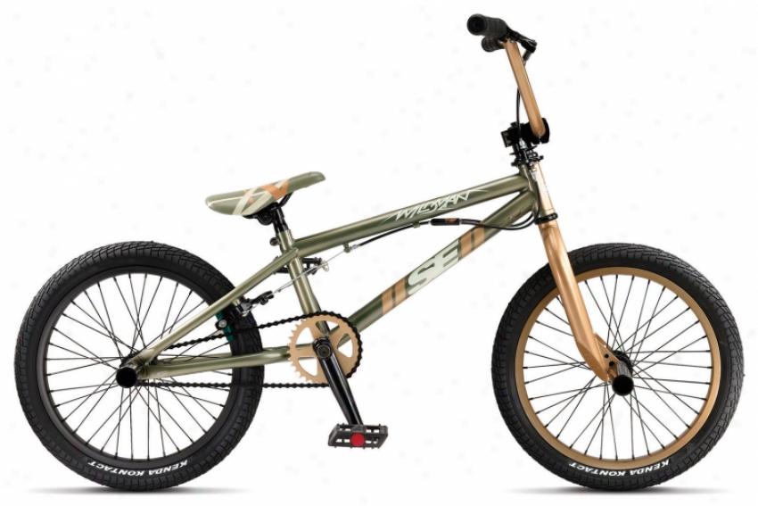 "Se Wjldman Street Bike Table Top Brown 18"""
