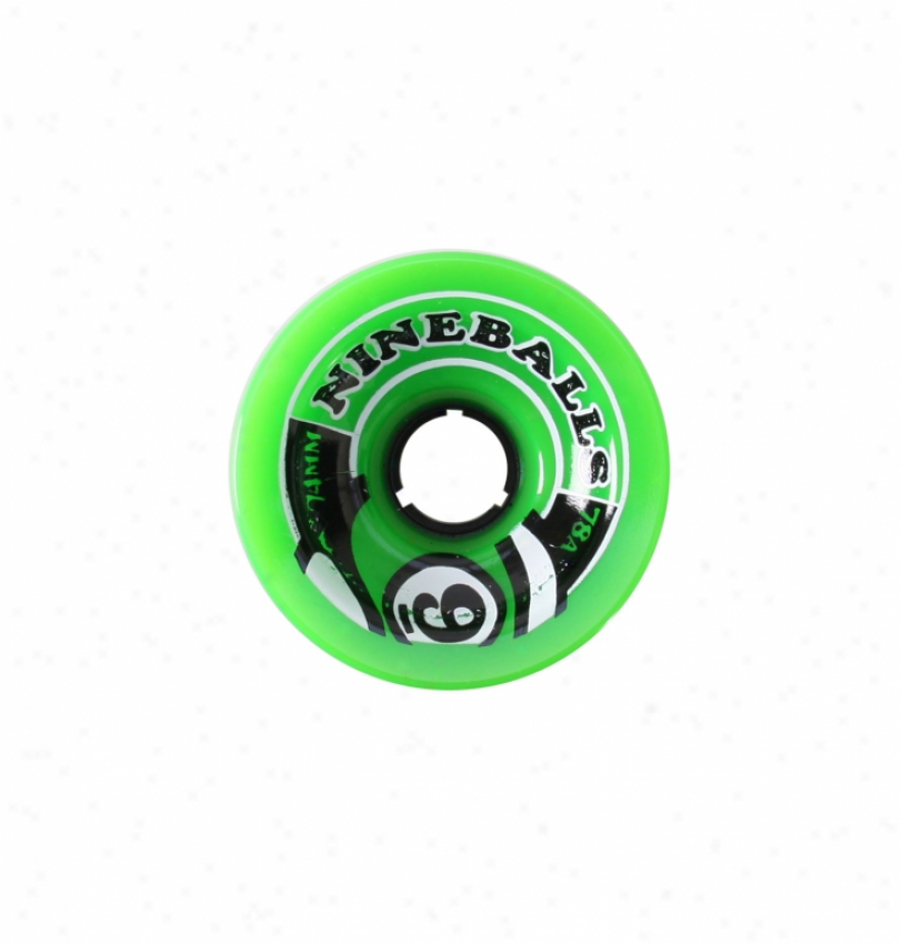 Sector 9 Top Shelf 9-balls Skateboard Wheels 74mm 4pk