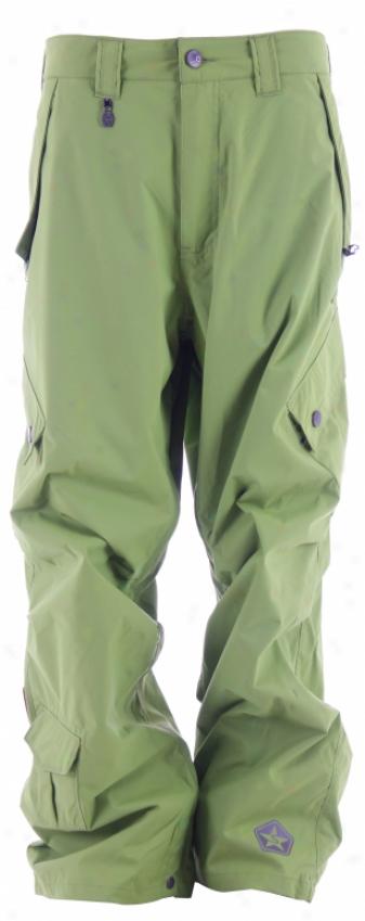 Sessions Achilles Snowboard Pants Lime