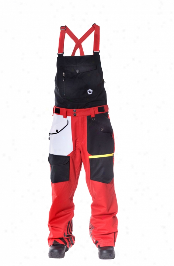 Sessions Benchetler Bib Ski Pants Mourning