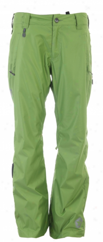 Sessins Brawl Snowboard Pants Lime