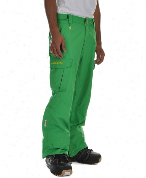Sessions Concpet Snowboard Pants Turf