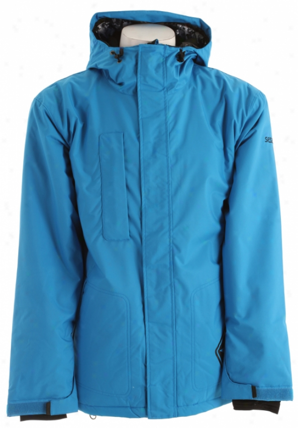 Sessions Evolution Snowbooard Jacket Real Blue