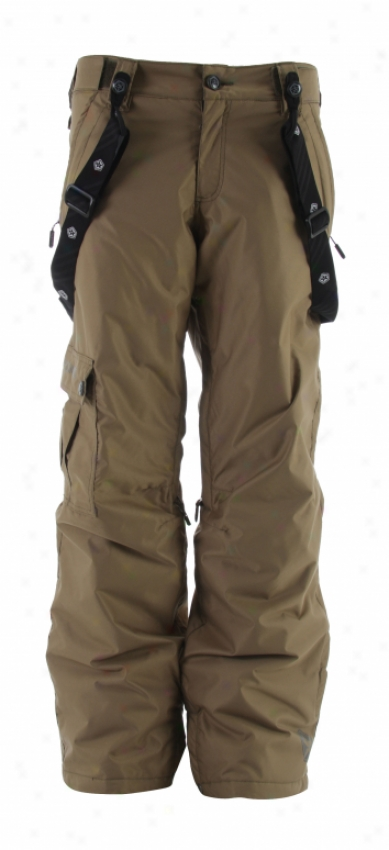 Sessions Global Snowboard Pants Khaki