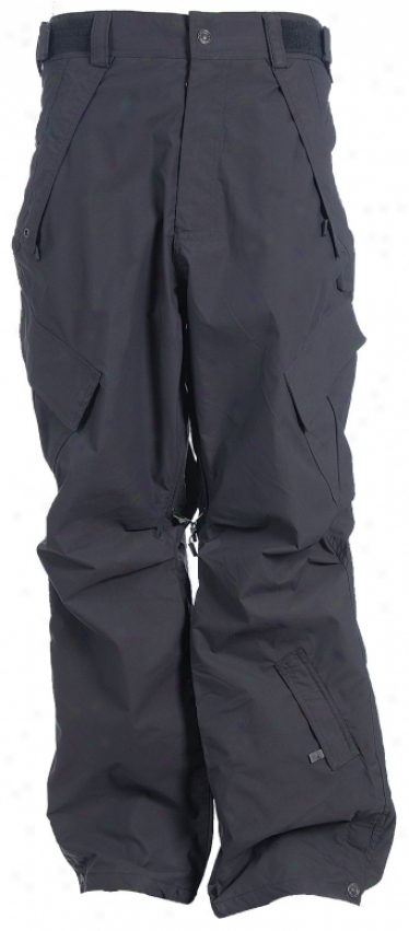Sessions Foot-soldiers Snowboard Pants Gunmetal