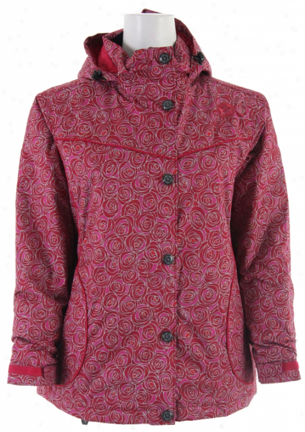 Sessions Munchie V Go Snowboard Jacket Coral V Go