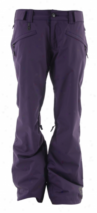 Sessions Pure Snowboard Pants Deep Purple