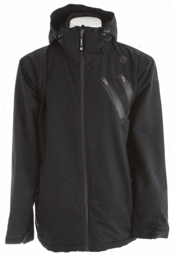 Sessions Rework Snowboard Jacket Black
