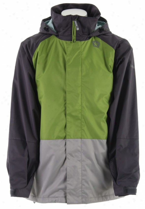 Sessions Turbine 2 In 1 Snlwboard Jacket Lime