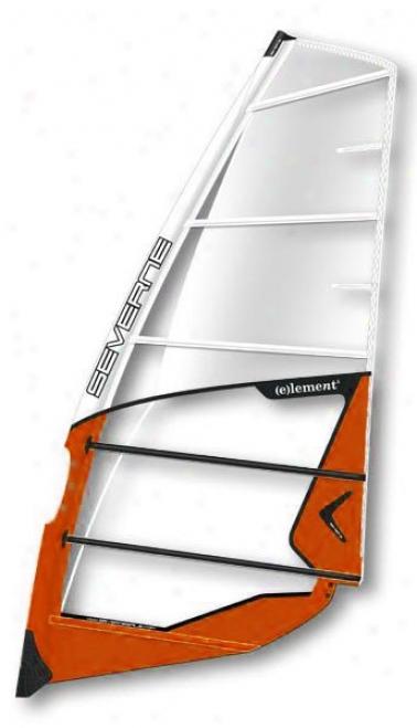 Severne Element Windsurf Sail 8.5 White/orange