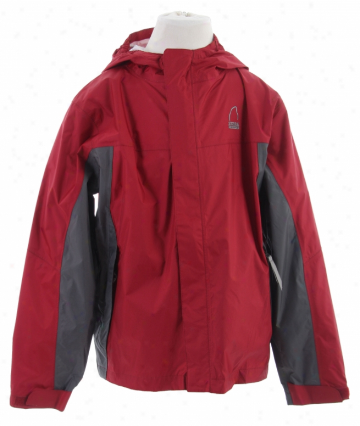 Sierra Deesigns Hurricane Shell Jacket Crimson