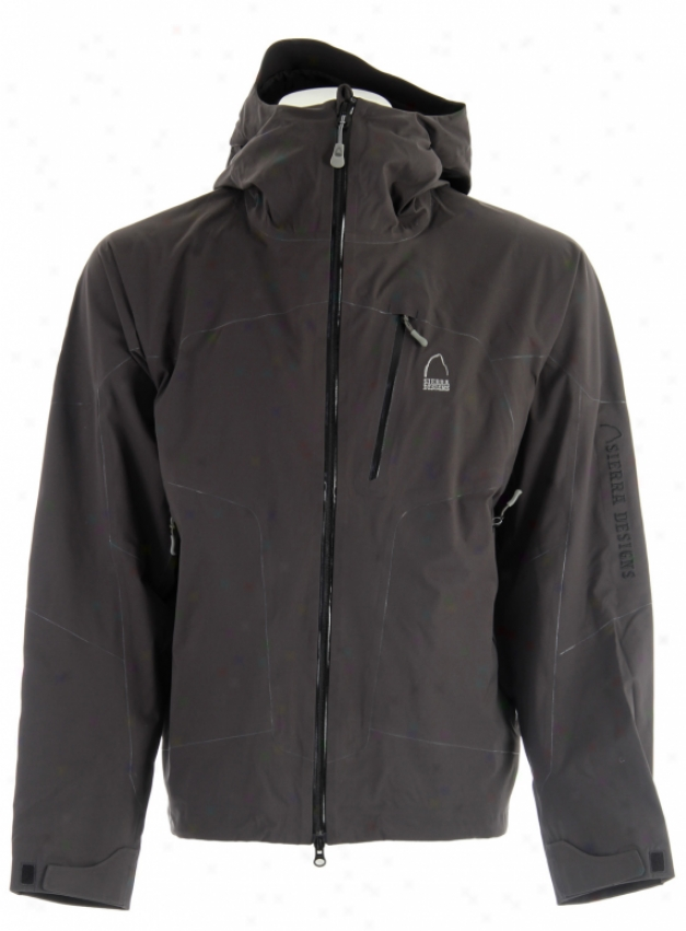 Sierra Designs Mantra Fusion Ski Jacket Black