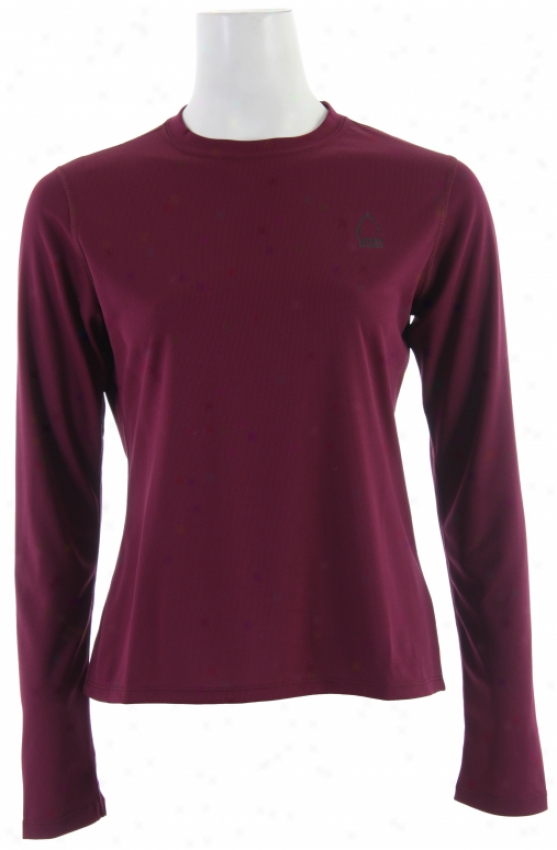 Sierra Designs Trainer L/s Shirt Radish