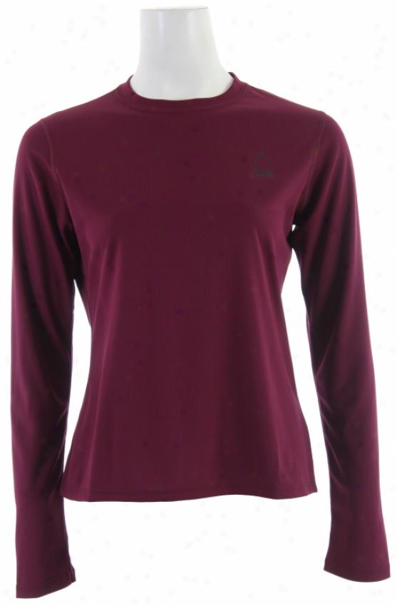 Sierra Designs Trainer L/s Shirt Radish